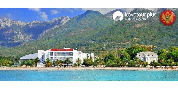 Odpočinková dovolená v hotelu Princess**** v Černé Hoře
