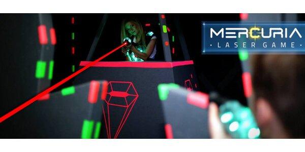 Letní akce v Mercuria Laser Game