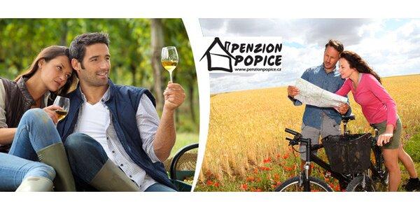 3denní pobyt s ochutnávkou vín pro dva na jižní Moravě