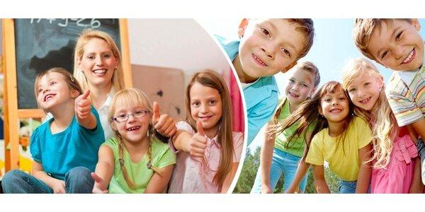 Příměstské tábory pro děti od 3 do 9 let v Olomouci