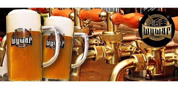 Prohlídka pivovaru Wywar spojená s ochutnávkou