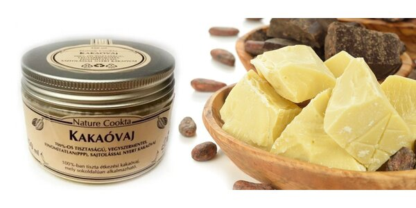 Máslo kakaové 250 ml Nature Cookta