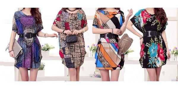 Lehoučké letní šaty či tuniky