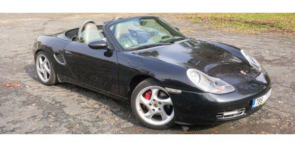 Prožijte 4 hodiny s luxusním Porsche Boxster