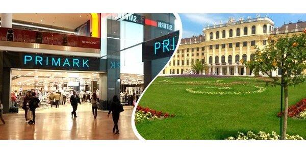 Výlet do vídeňského Primarku + Prater nebo Schönbrunn