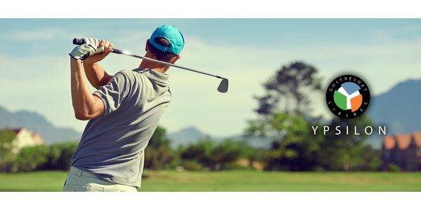 Voucher na 3 hodiny tréninku s profesionálním trenérem golfu