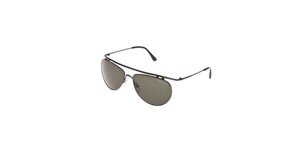 Sluneční brýle Tom Ford s ocelovým ozdobným ráfkem