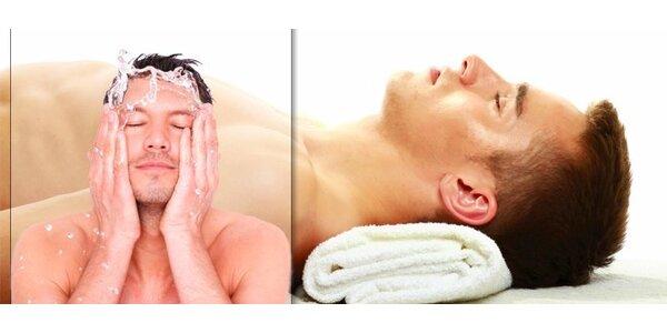 Relaxační a detoxikační rituál pro mužskou pleť