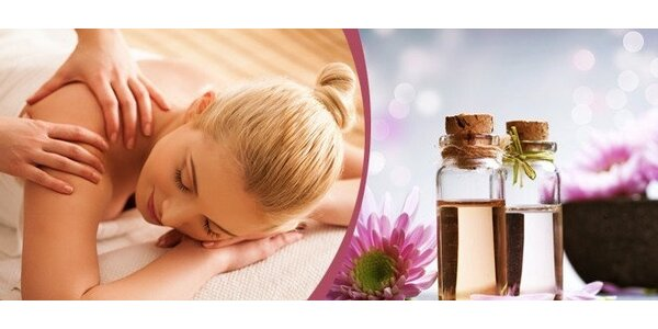 Aromaterapeutická masáž celého těla