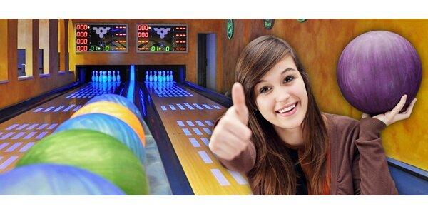 Pronájem bowlingové dráhy na 2 hodiny