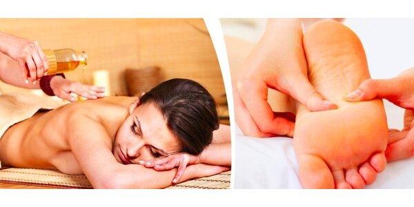 Reflexní masáž chodidel nebo Breussova masáž