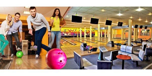Bowling na 60 min ve Sportcentru Duo