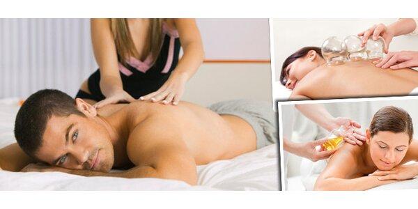 Skvělá hodinová masáž dle vlastního výběru