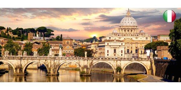 Krásy jižní Itálie - Řím, Vatikán, Vesuv, Pompeje, Capri