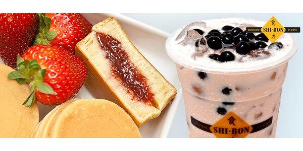 2 nebo 5 originálních tchajwanských Bubble Tea