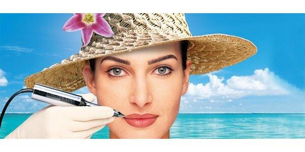 Permanentní make-up obočí, oční linky nebo rtů
