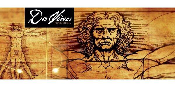 Vstupenky na unikátní výstavu Da Vinci - Inventions