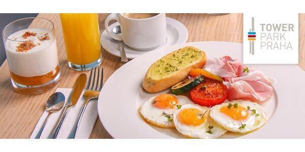Snídaně v Žižkovské věži a vstup do Observatoře