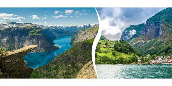Poznejte krásy jižního a středního Norska