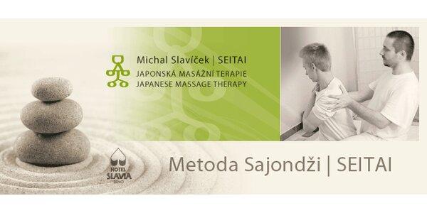 Metoda Sajondži - masáže v hotelu Slavia