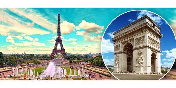 Paříž a Versailles včetně dopravy a ubytování se snídaní