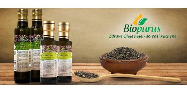 Olej z chia semínek v bio kvalitě