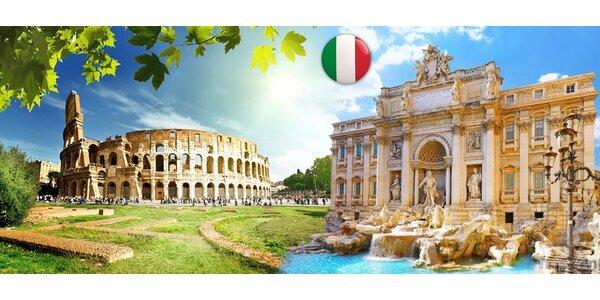 Památky Říma, Vatikánu a Florencie za 4 dny
