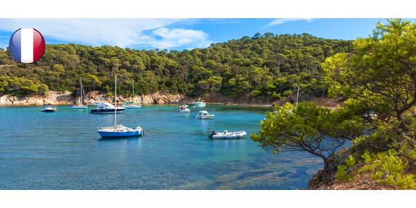 Zájezd do Marseille a na ostrov Porquerolles