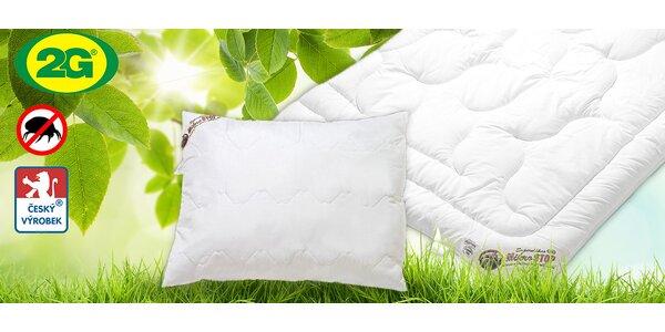 Celoroční polštáře a deky Microstop