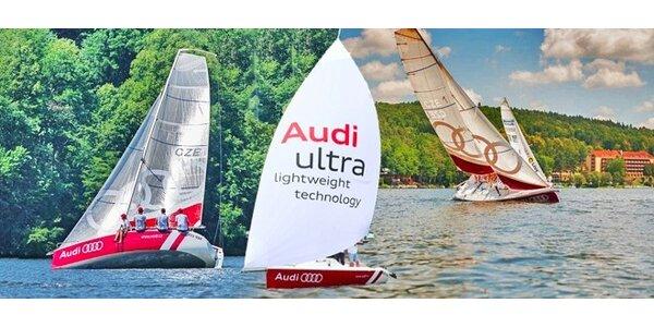 Svezení na plachetnici Audi (60/90 minut)