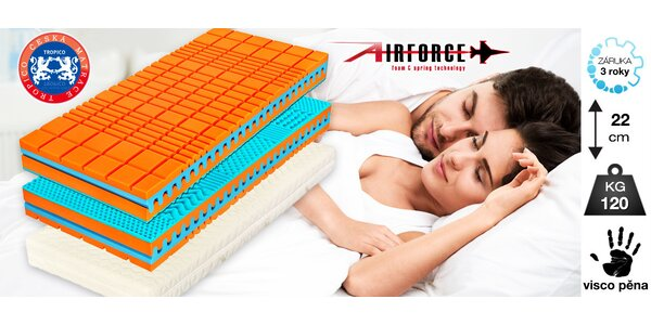 Kvalitní matrace Visco Max