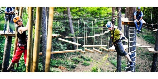 Vstupy do Jungle Parku - platné do dubna 2016