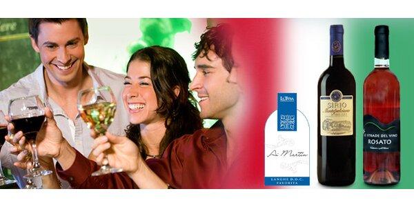 TŘI lahodná italská vína s možností dodání