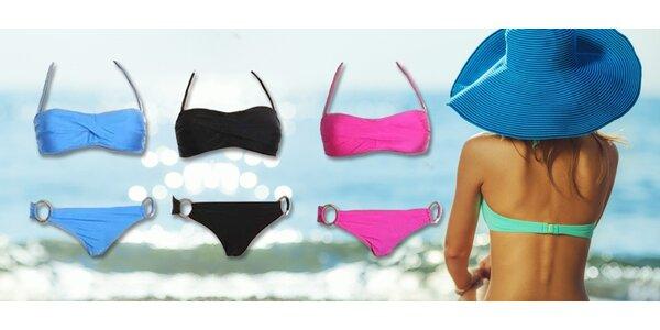 Dvoudílné dámské plavky v krásných barvách