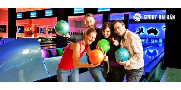 Hodina bowlingu s Cuba Libre XXL nebo bez