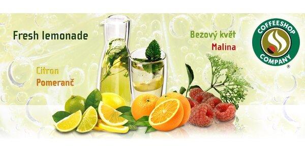 2x osvěžující fresh lemonade v Praze i Ostravě