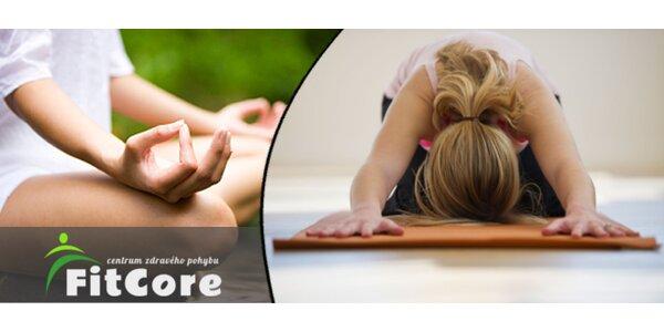 Jóga nebo Čchi-Kung - permanentka na 5 lekcí