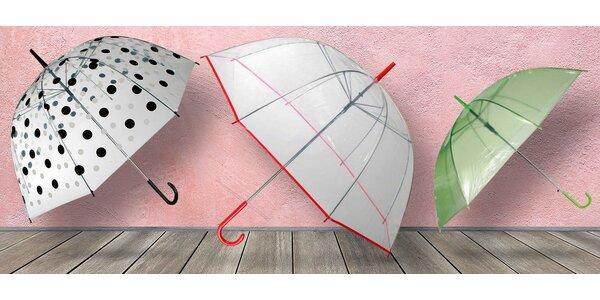 Deštníky nejen na letní bouřky