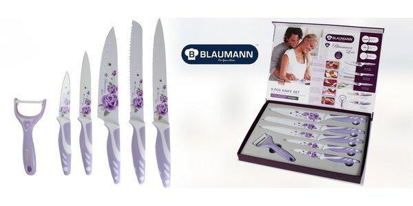 Květované 6dílné sady nožů Blaumann
