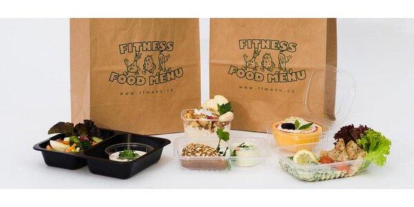 Fitness food menu - zdravé a chutné jídlo každý den do domu