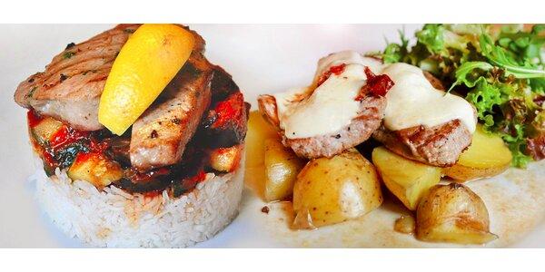 Menu pro milovníky masa v restauraci Jiná krajina