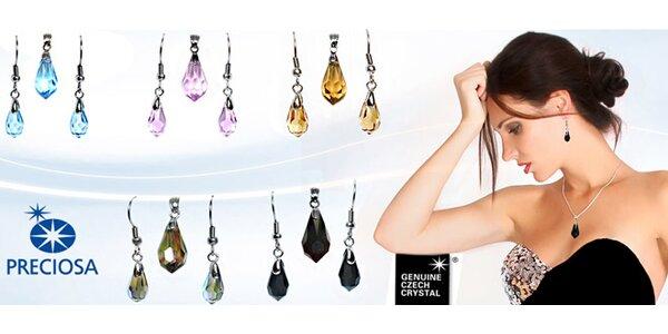 Krásné šperky s krystaly Preciosa