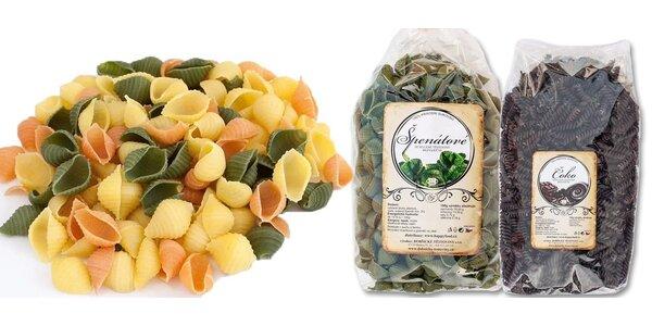 Balíček výborných 100% přírodních těstovin