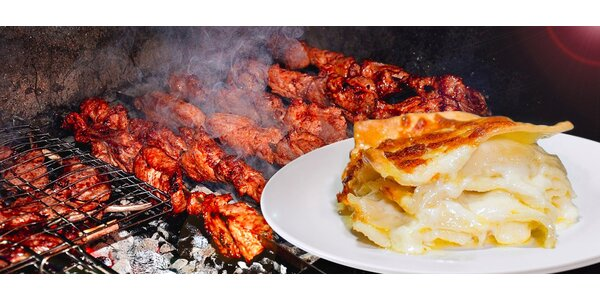 Tříchodové gruzínské degustační menu