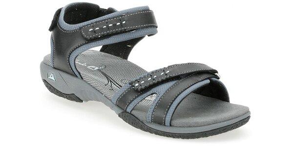 Dámské černé sportovní sandále Clarks