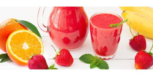 Čerstvé ovocné fresh mixy