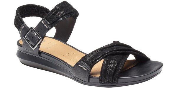 Dámské černé sandále Clarks s technologií Active Air