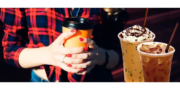 Káva s sebou dle výběru z podniku Freshman