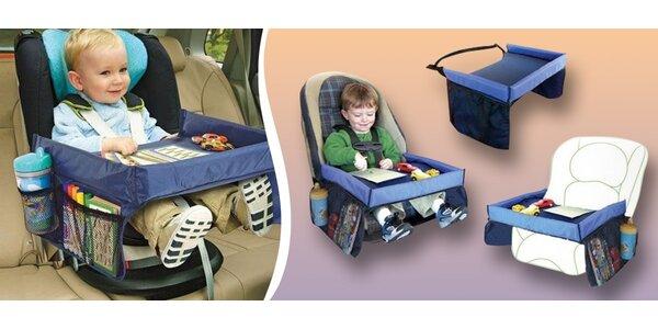 Dětský jídelní i hrací stoleček do auta