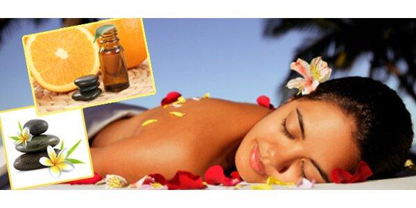 Osvěžující citrusová aroma masáž 90 minut